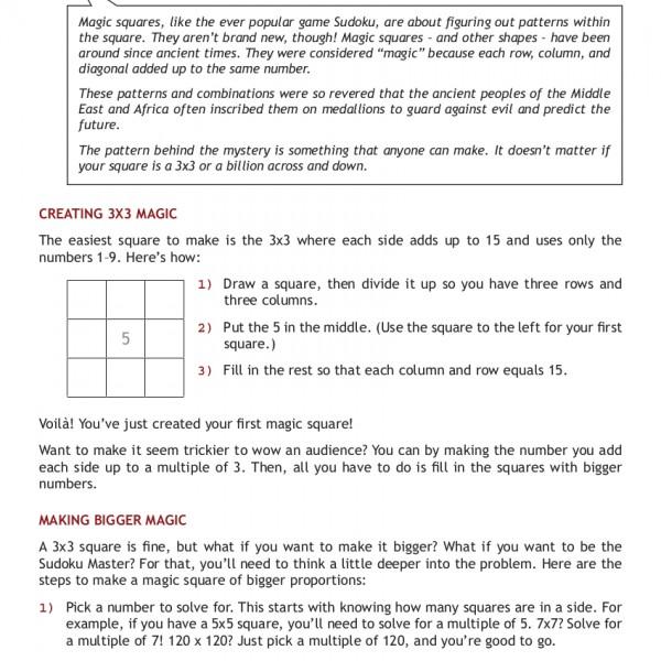 MathSquares-CheatSheet