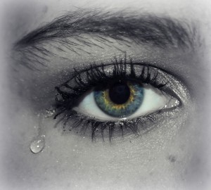eye, crying, depression