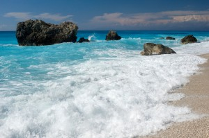 beach, bacteria