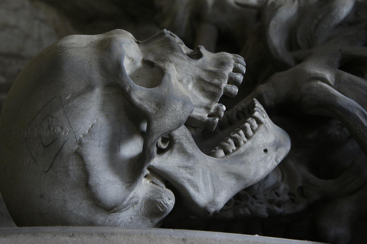 skull, history, murder