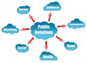 All that goes into PR -- it's more than bragging, it's also networking.