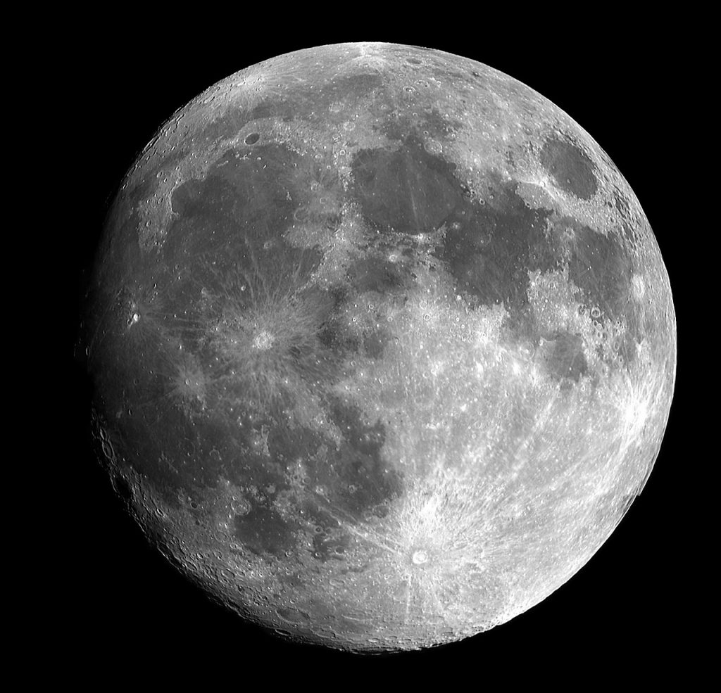 moon, full moon, science, gravity