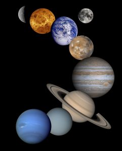 solar system, science, astronomy