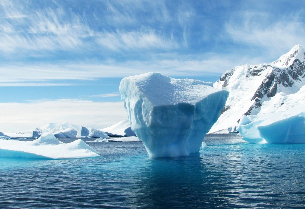 iceberg, ice melt, antarctica