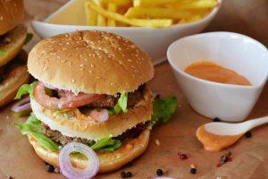 fast food, burger