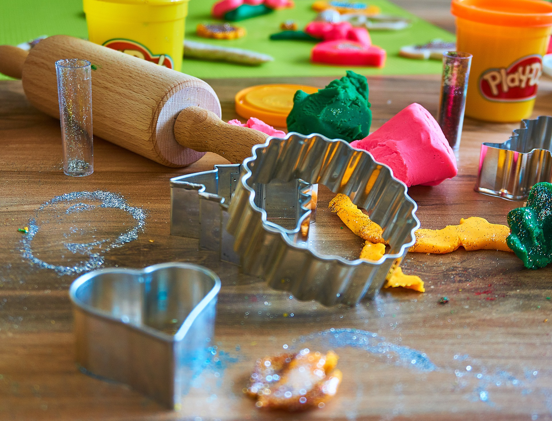 The Non-Glamorous History of Play-doh