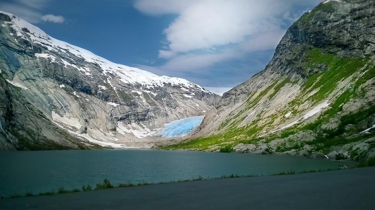 glacier, ice, environment