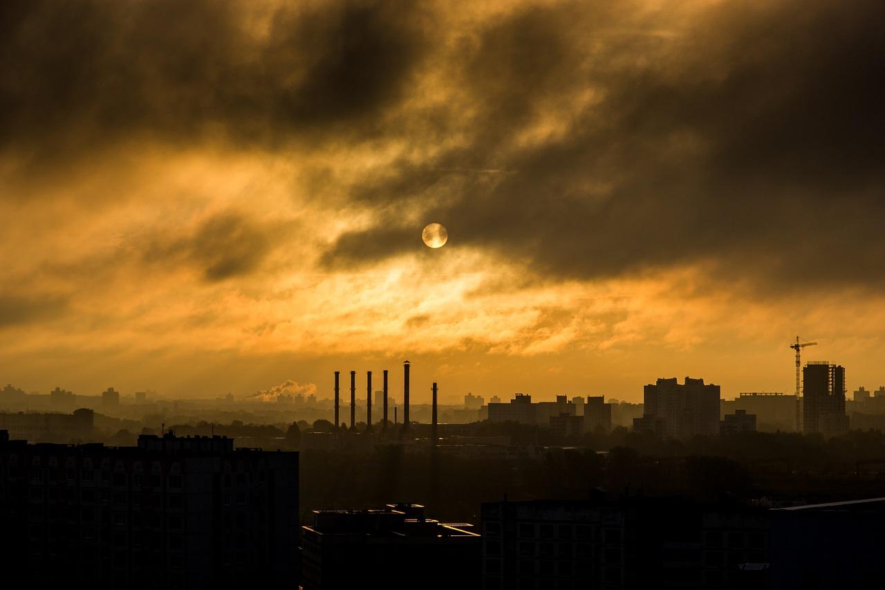 smog, pollution, environment