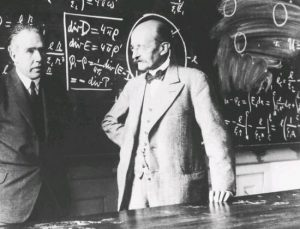 Niels Bohr and Max Planck