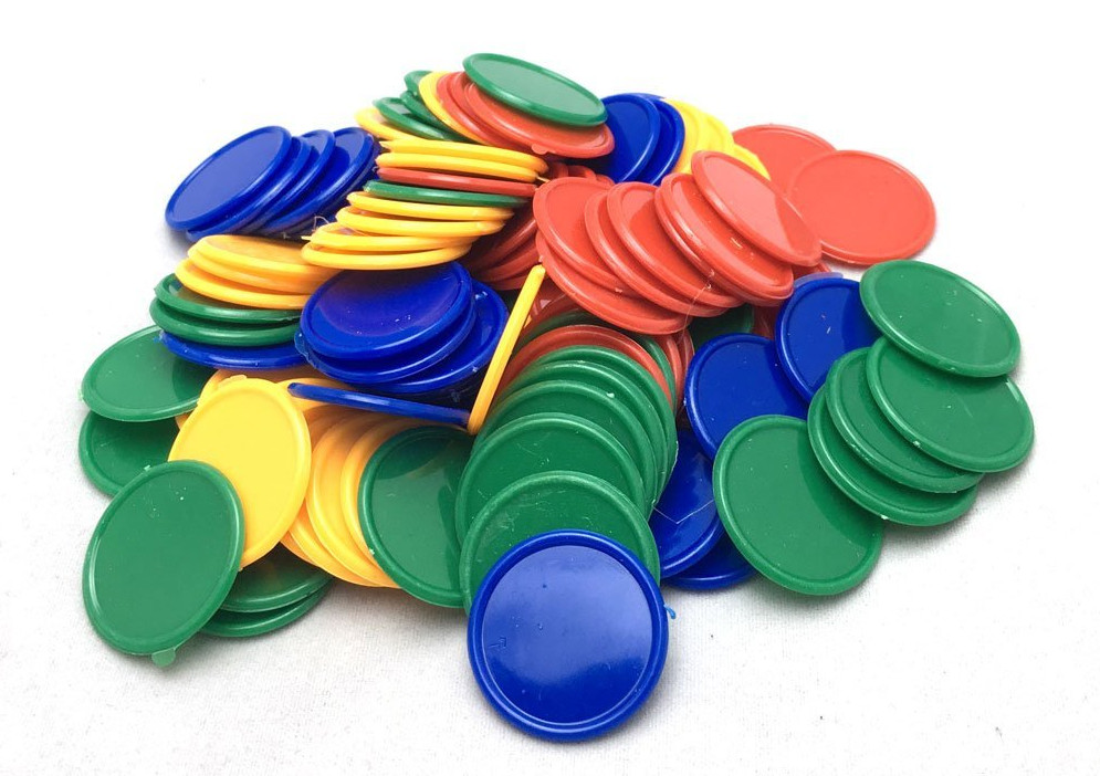 teach finance with plastic chips