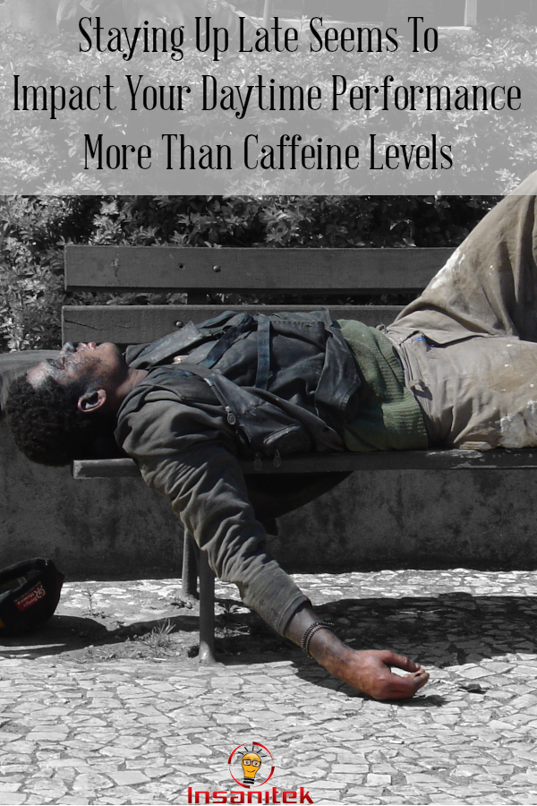 caffeine impacts, sleep impacts, caffeine or sleep, sleep performance, napping,