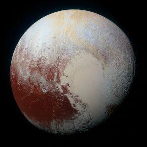pluto, planet, solar system