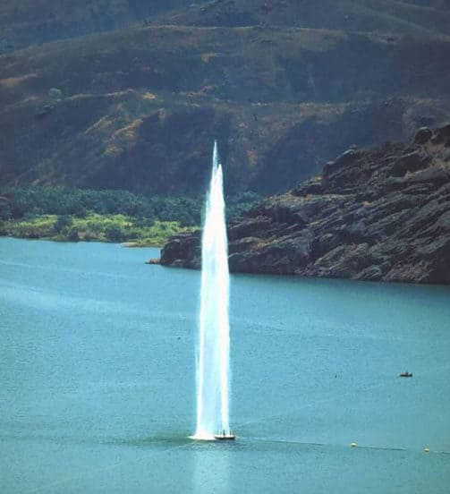 fountain, lake turnover, solving problems, limnically active lakes