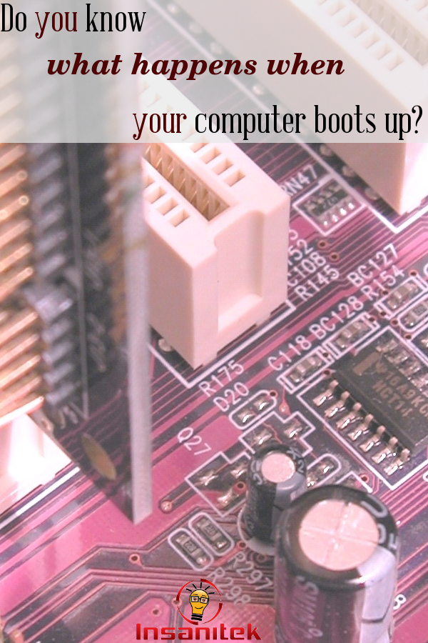 computer, boot up, how it works