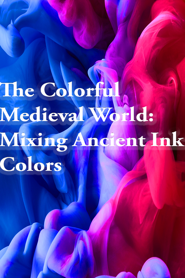 natural ink, medieval methods, ink, dye, natural dye, toxic dye