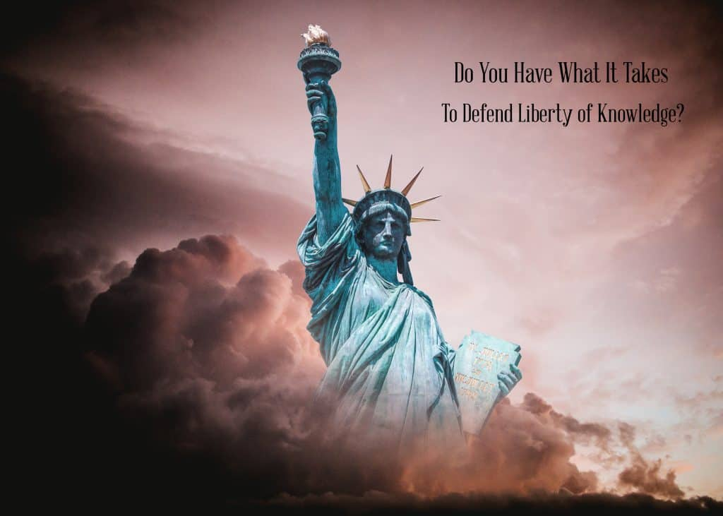 Liberty leads to knowledge